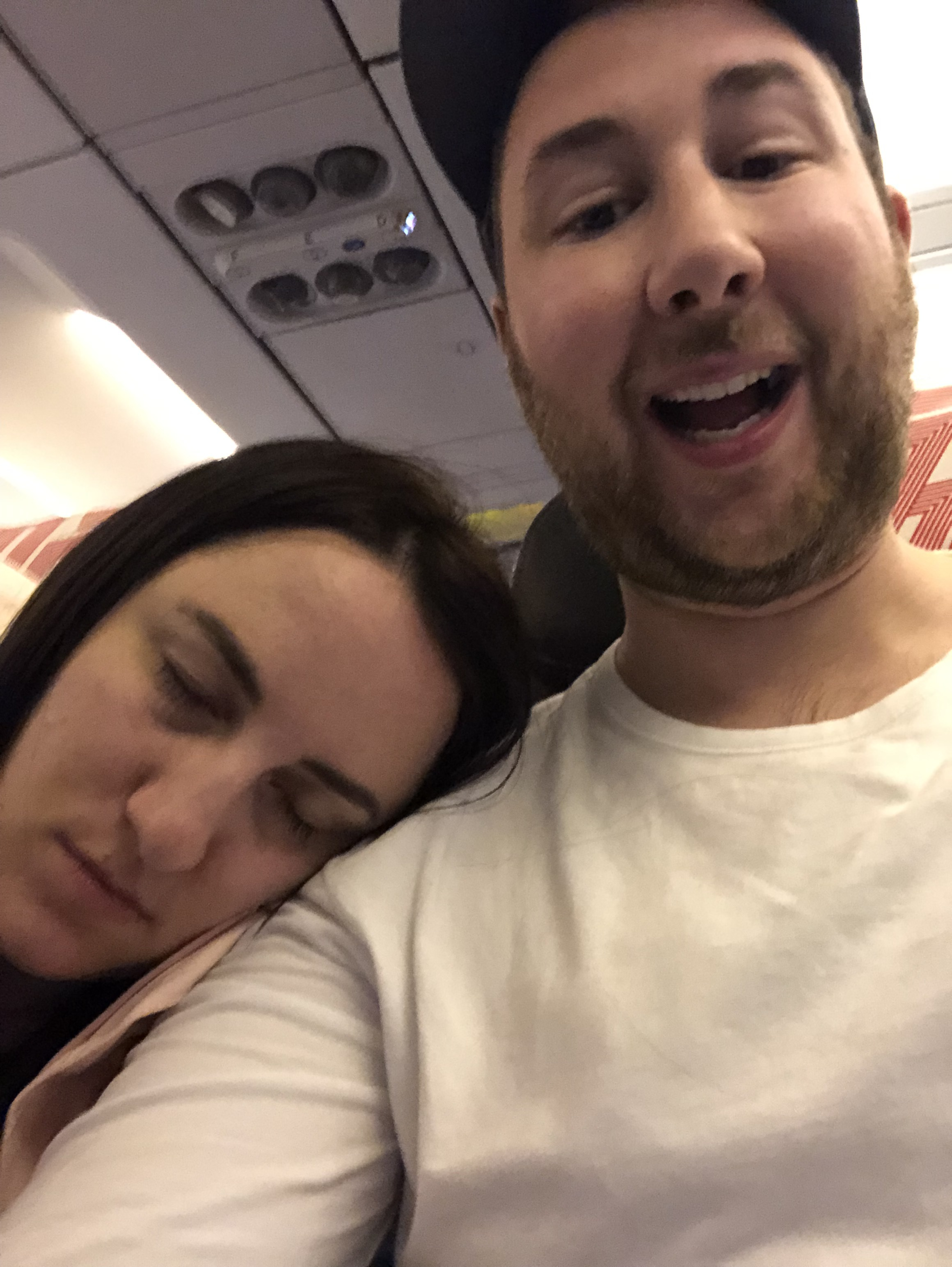 Poor Laura was tired.