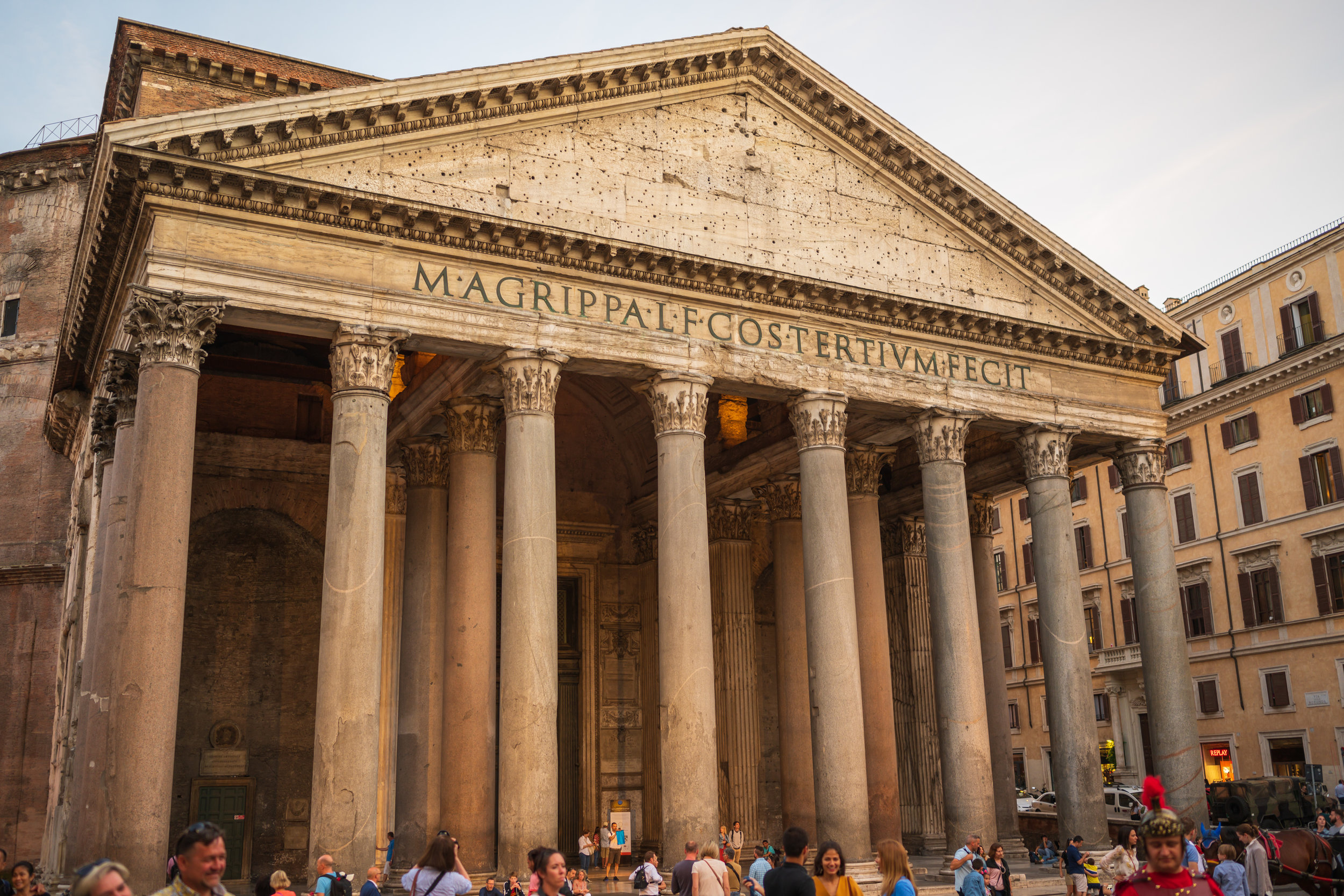 The magnificent Pantheon.