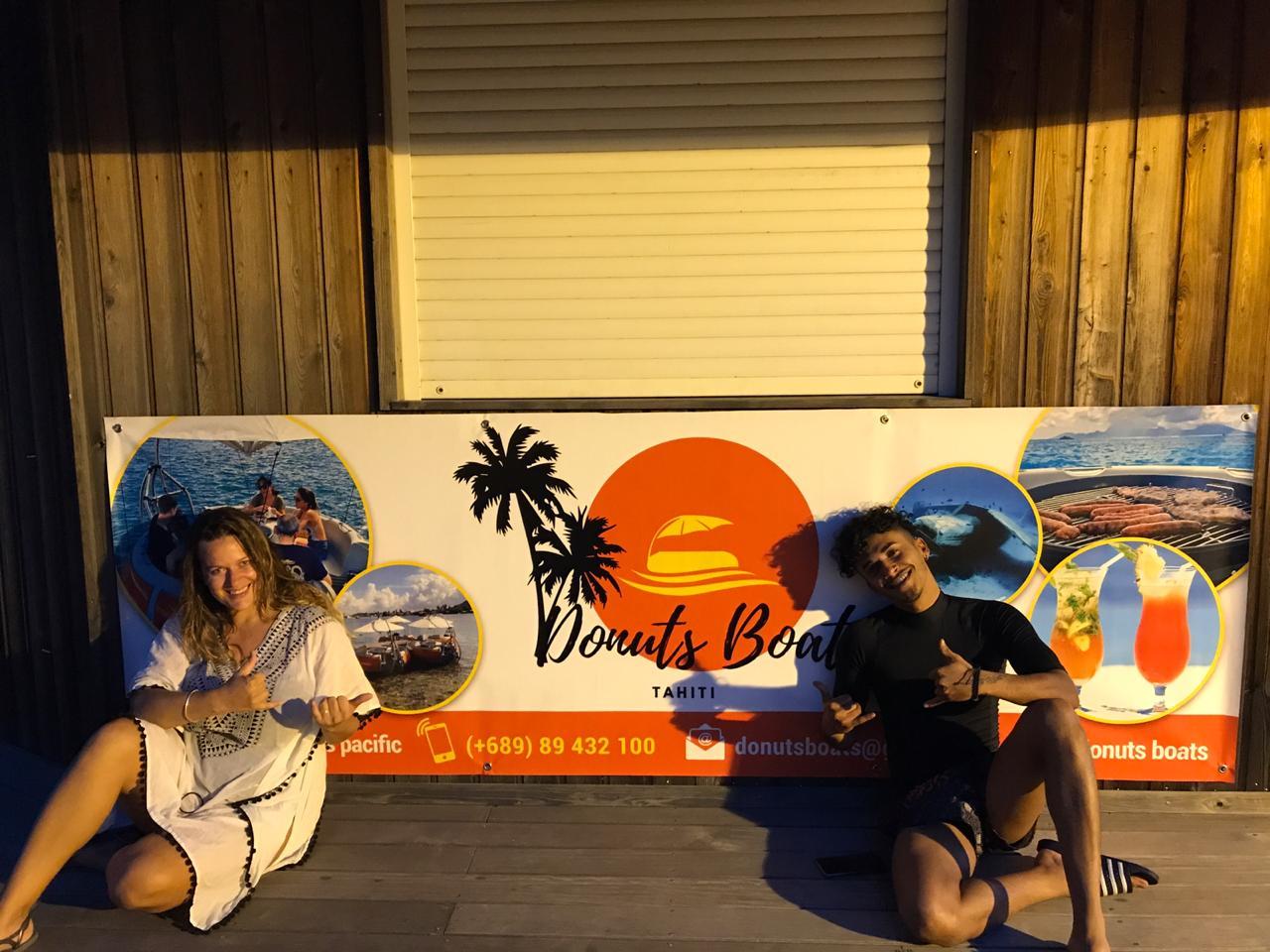 Merci    Mickaël Pouvin    d'être venu nous voir. A très Bientôt sur le lagon de Tahiti!!!!