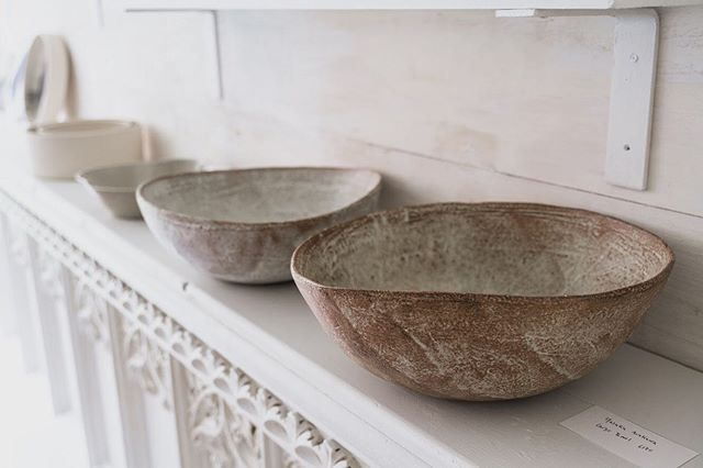 Bowls by @yasuko.arakawa in store when we open again on Wednesday