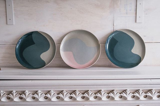 Plates by @luciafraser. You can order full sets of any of our plates from the shop. Shortly this option will be available online too! Watch this space...
