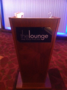 February 23, 2014  –  CelluloidJunkie.com   I went to experience the new trend of luxury cinema-going at The Lounge at Whiteleys.