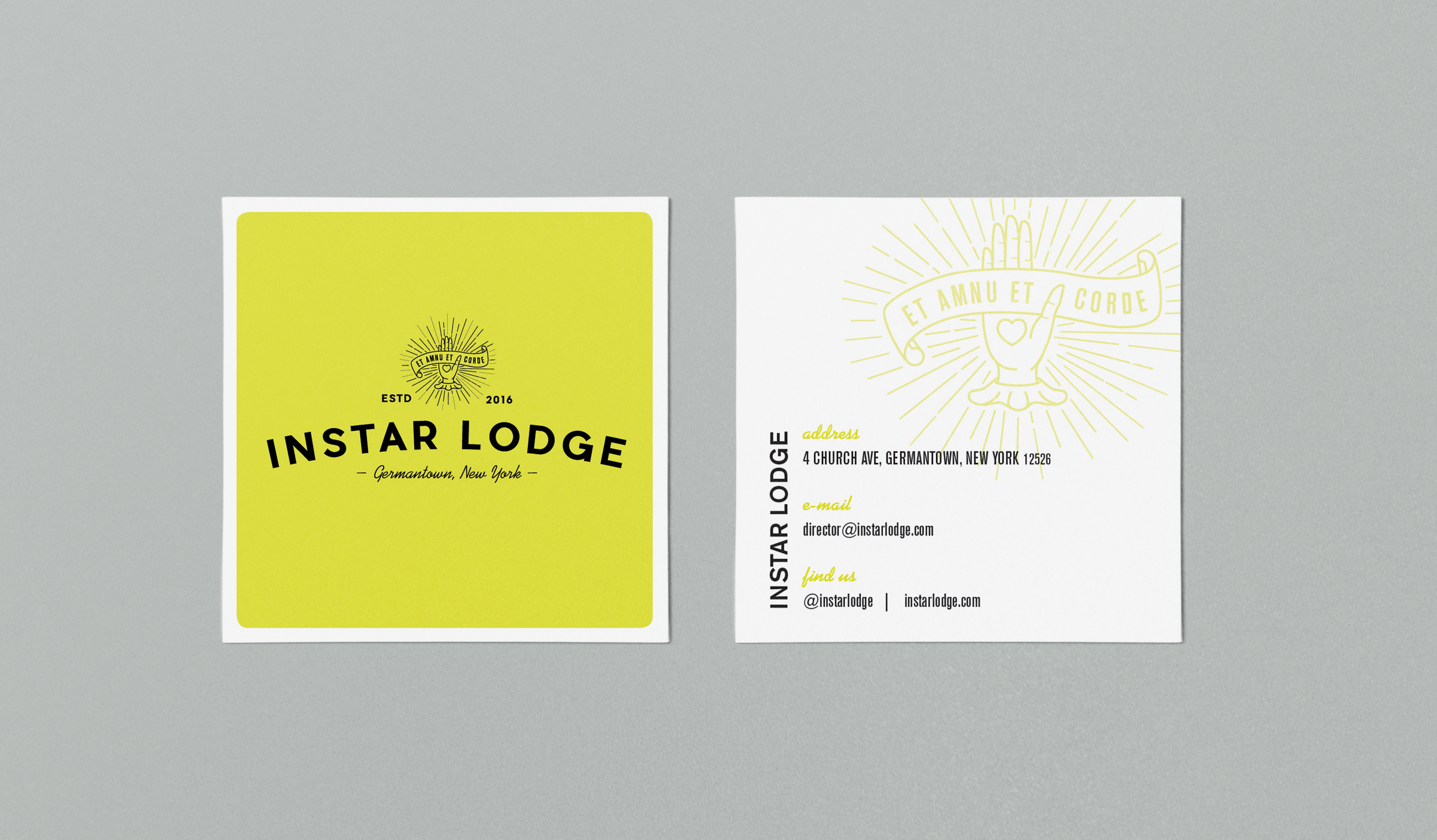 Instar Business Cards