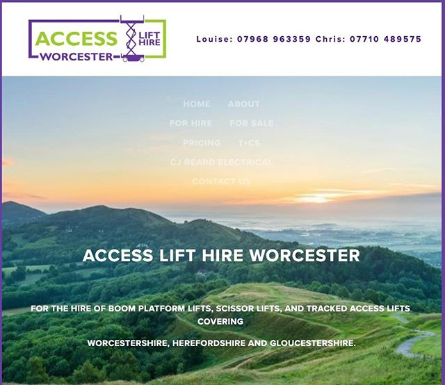 Excited to launch our NEW Access Lift Hire website, we have been providing scissor and boom lifts locally for over 12 yrs.⠀ ⠀ Thank you @Emmamayrealworldcoaching for developing the website and @amylouisehughesdesigns for creating our new logo.⠀ ⠀ https://buff.ly/31p7hy8⠀ #accesslifthire #boomlifts #scissorlifts