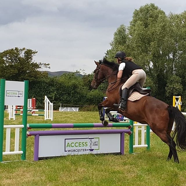 Loving the new jumps we've sponsored for @malvernponyclub