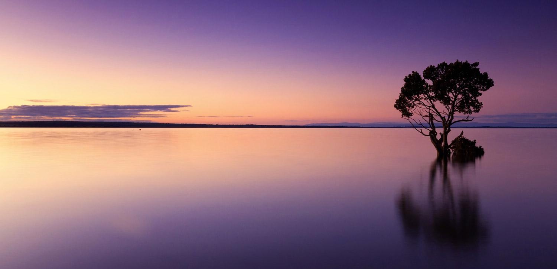 Water filed horizon