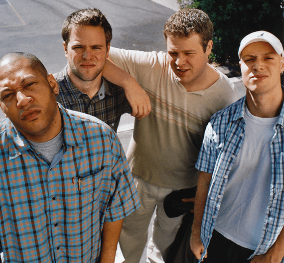 Black Lung Brothers, San Francisco, CA, circa 2001.