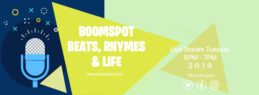 Boomspot podcast - JOIN US LIVE OR SUBSCRIBE ON ITUNES TO STAY UP TO DATE.