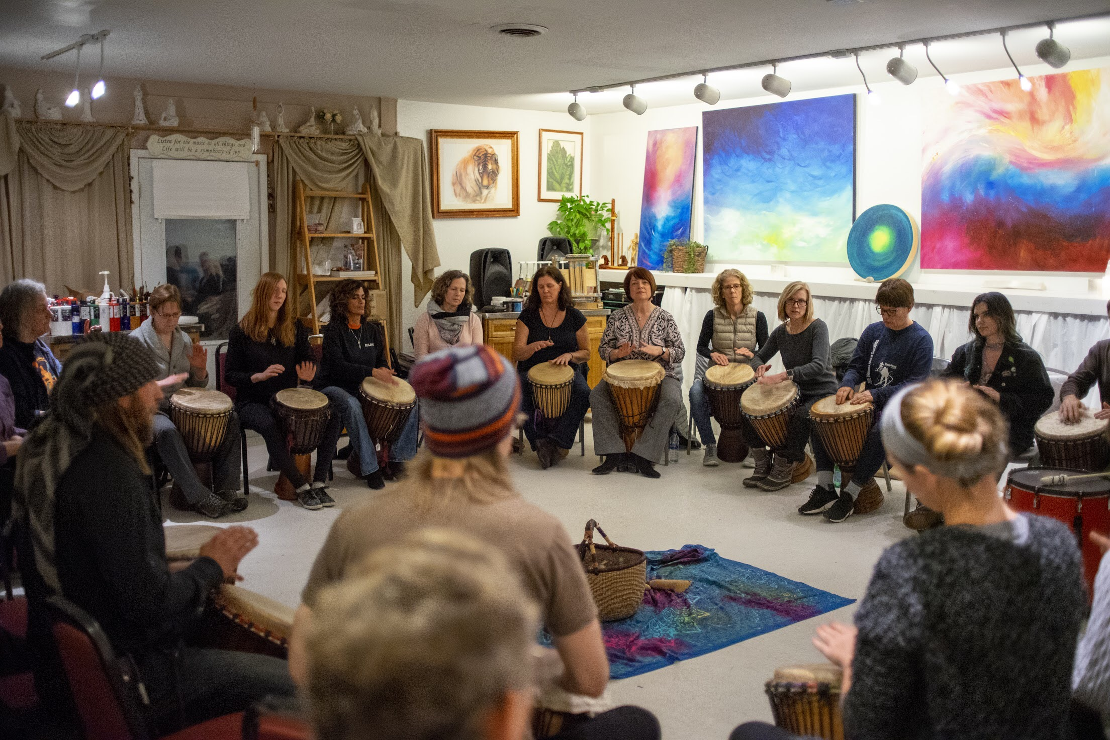 - MONTHLY DRUM CIRCLES SINCE 2007