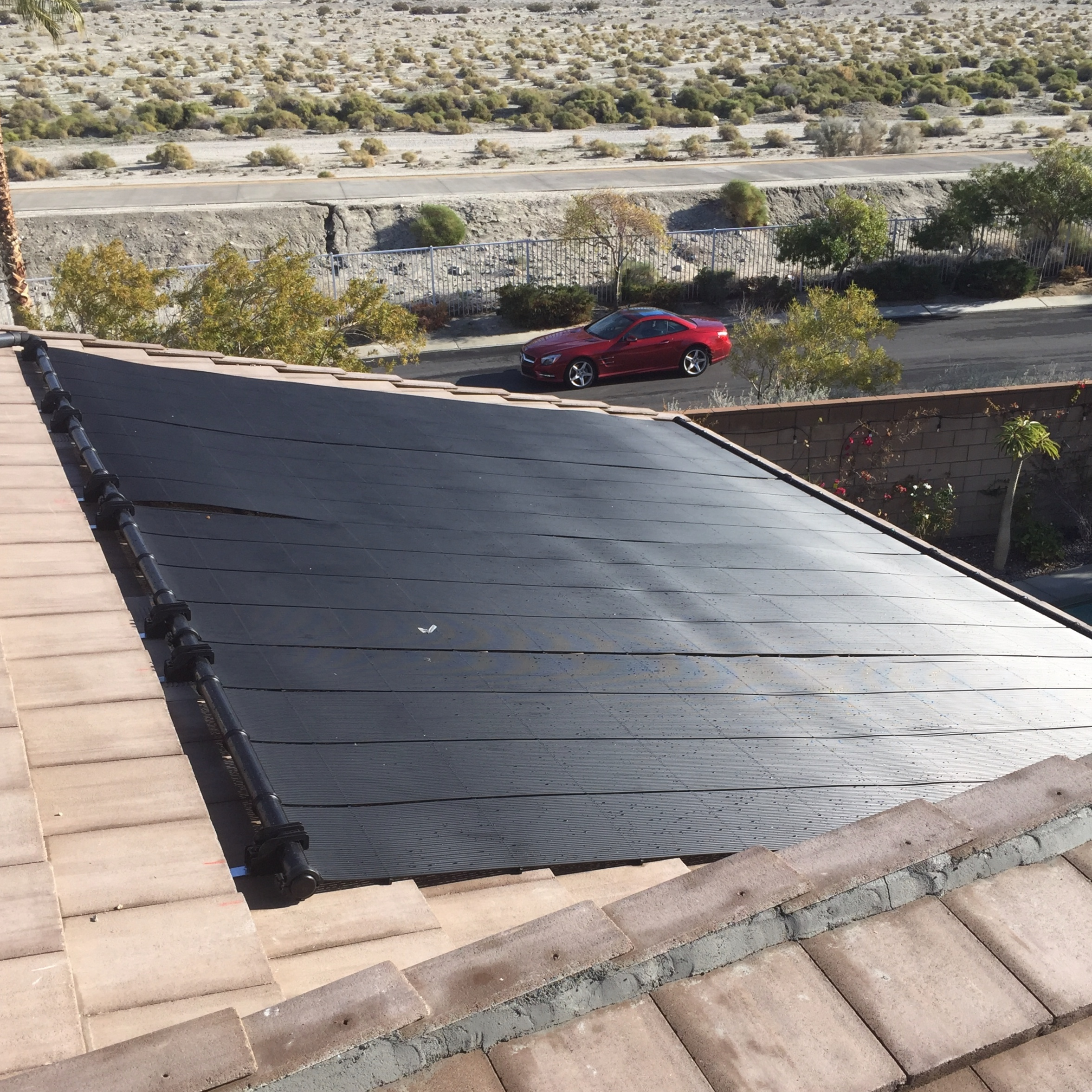 - SOLAR THERMAL (POOL HEATING)