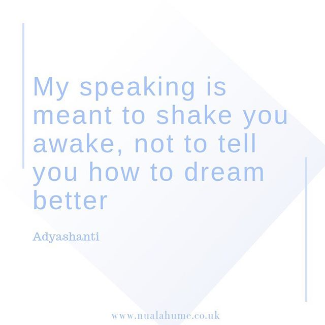 Sometimes we need a bit of a shakeup...it's good right? Not only teachers but life can give us a good shaking! Well, it's time for my annual shake up with this spiritual teacher Adyashanti, off on a silent retreat for 5 days this weekend.  Top 3 things to bring: diary for insights, tissues for odd tear, openness to what is shown....'Silence is golden' 💖