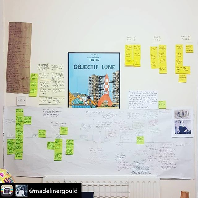 Repost from @madelinergould - This is how I usually cope with writing. Not sure how I'm going to translate this to a pub setting... @partofthenight @partofthemain @oldredliontheatre  Tickets available for the epic 24 hour play challenge/ opening gala extravaganza now!  https://www.theatreontap.co.uk/