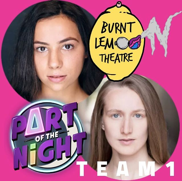 TEAM 1: @burntlemontheatre Artistic Directors @han_benson & @caralbaldwin . Hannah & Cara are @east15actingschool graduates who made badass gig theatre - meaning they incorporate music throughout their plays. They received rave reviews for #HalfMoonShania last year (which was set in a pub!) and we can't wait to see their new #TokyoRose show at @edfringe in a few months. Hannah and Cara will be writing AND performing in an entirely new piece of gig theatre on June 17 @ORLpub. Come celebrate their creativity—and willingness to take on our challenge— in what will be an awesome night of food, drink, and really good theatre.