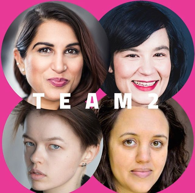 TEAM #2 for #TheatreOnTap: - 🖊 WRITER: Guleraana Mir @g__ting - #Offies-nominated writer of #COCONUT & 1/2 of the award-winning @thethelmas! - 🎬 DIRECTOR- Fumi Gomez @fumigomez - #SCUM @theparktheatre & #REGEN @thepleasance - 🎭 ACTORS- Robyn Holdaway @robynholdaway - @guildfordschoolofacting alum, #KINGLEAR @orangetreetheatre - Nadia Nadif - @nationalyouththeatre alum, #OTHERPLEASEEXPLAIN @theparktheatre - 🎫 Check out how this team will pull of creating an entirely new piece of theatre for @oldredliontheatre in 24 hours on June 17 - bit.ly/TheatreOnTap