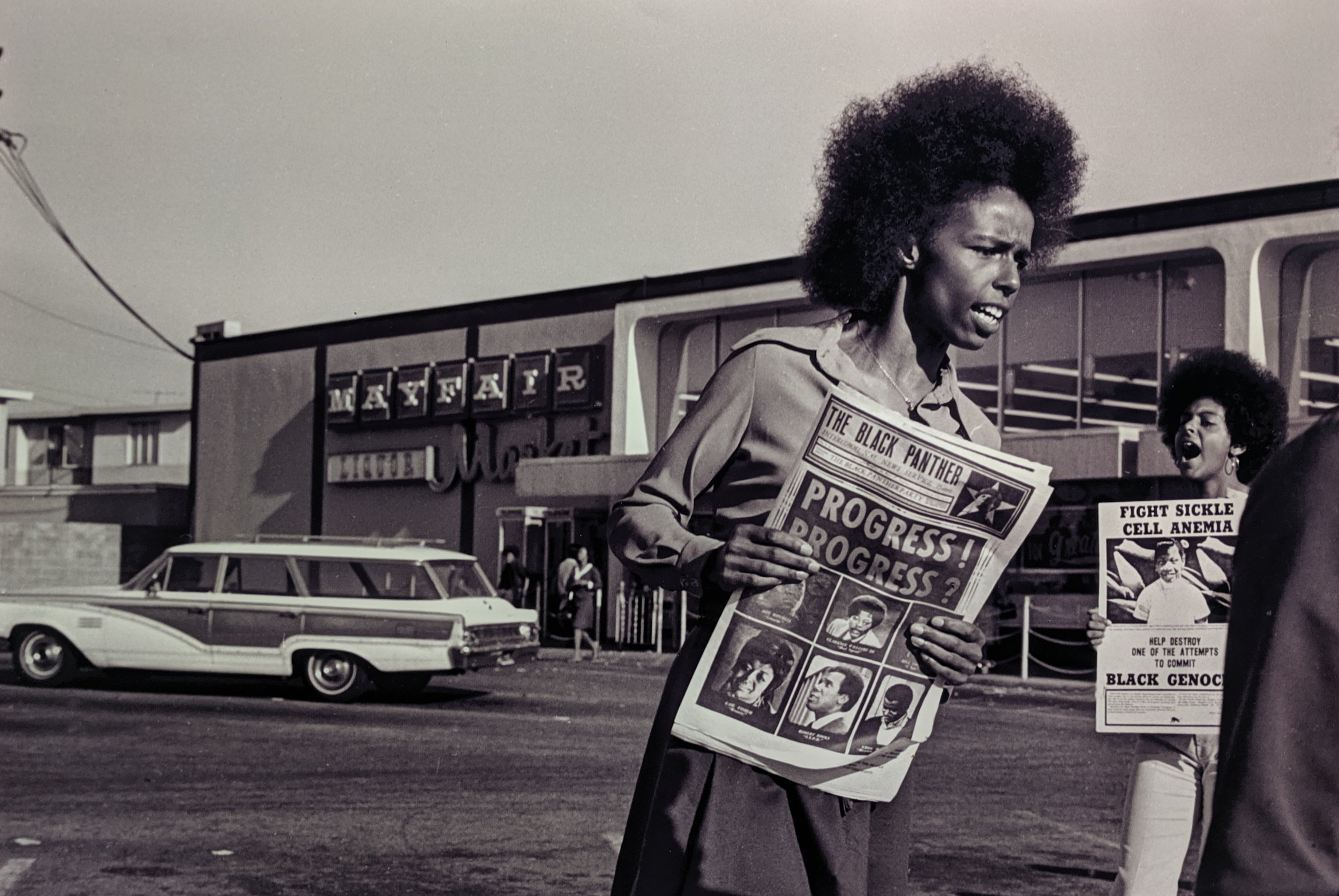 Th   e enduring influence of the Black Panther Party newspaper
