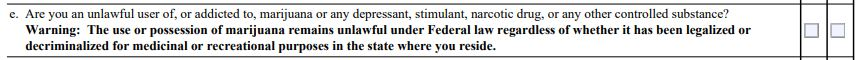 From ATF Form 4473.