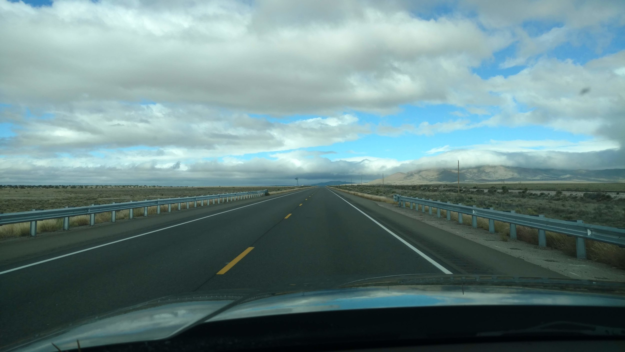 Only a few hundred more miles to elk camp…