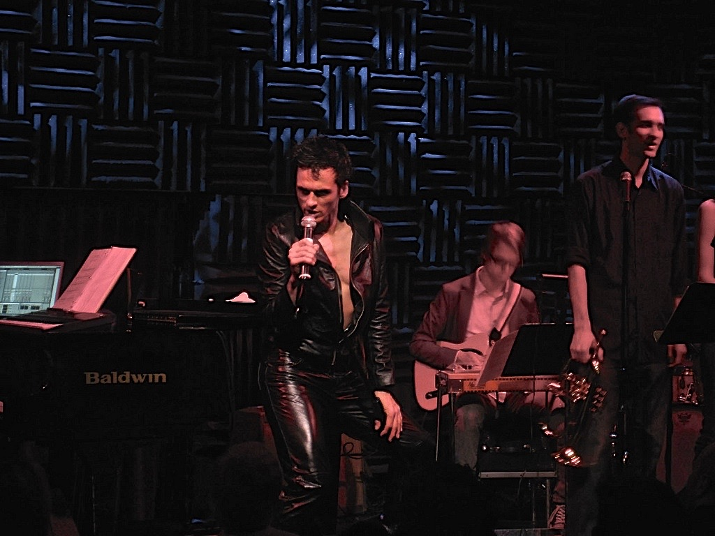"""The Importance of Being Elvis"", my one man show at Joe's Pub, NYC, 2010"