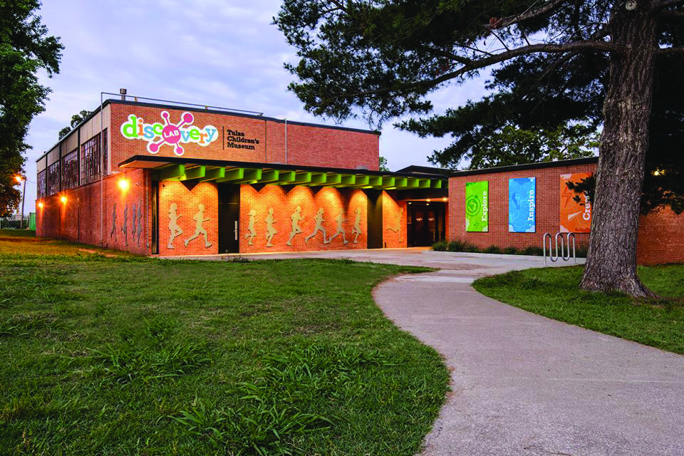 - My friend's thoughts of creating a children's museum in Tulsa, became a children's museum in Tulsa.