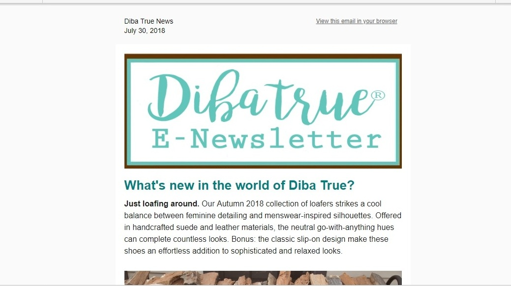 Diba True Newsletter-Loafers