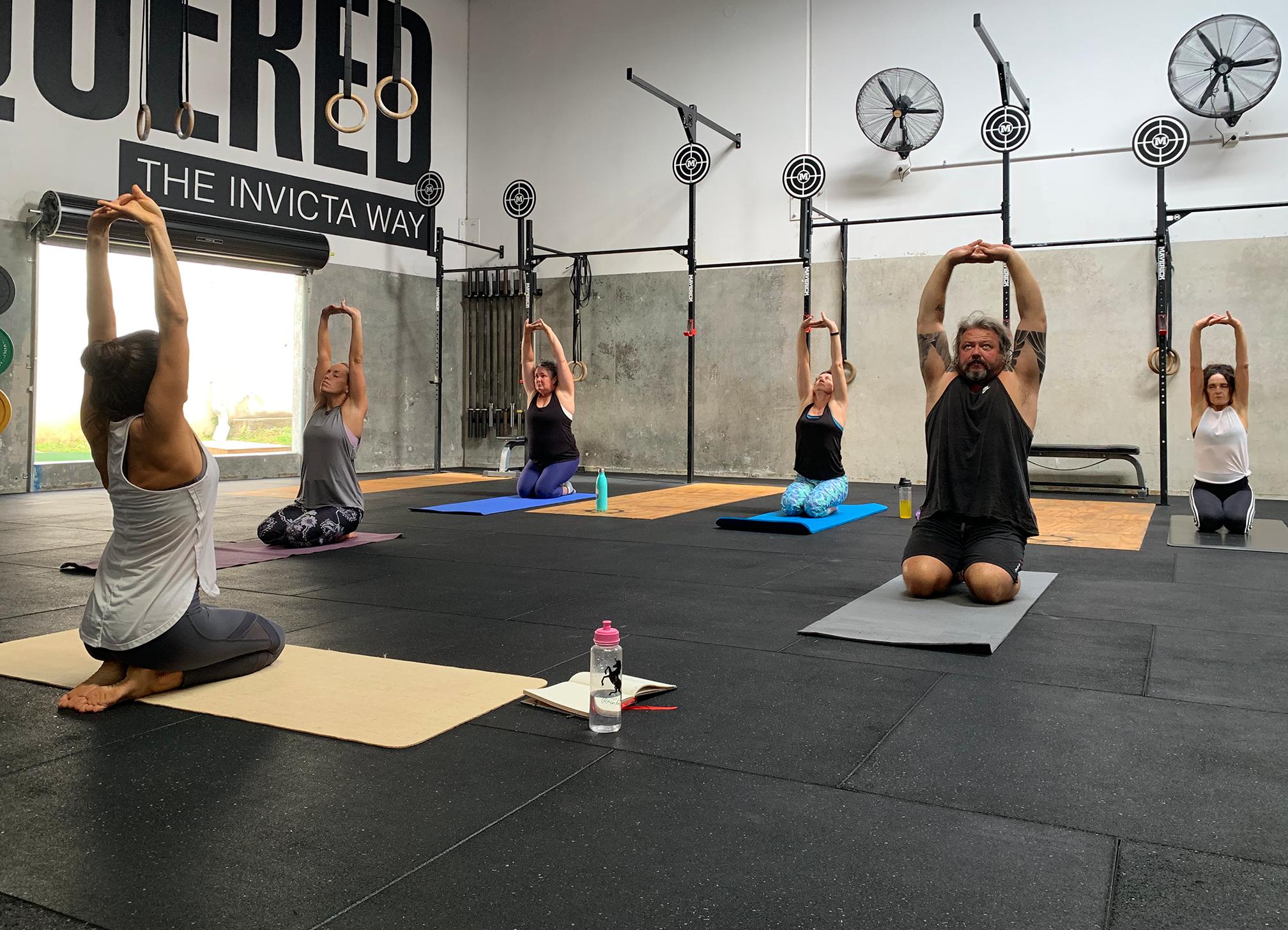 Crossfit 4566 yoga class