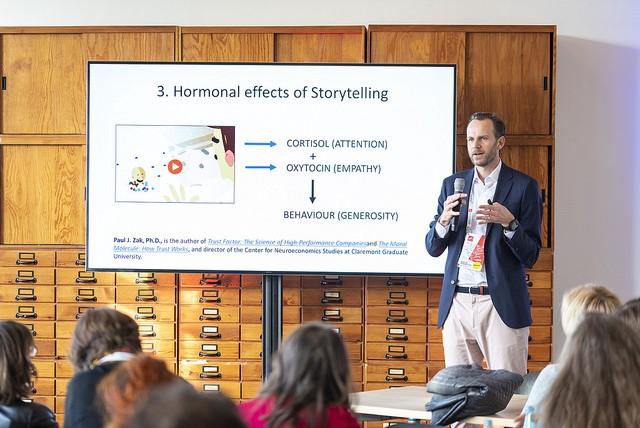 Martin Inderbitzin at Frontiers Health 2018.