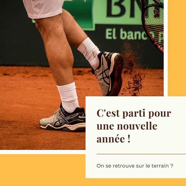 La reprise, c'est cette semaine !  Alors vous vous êtes (ré)inscrits ?  On peut vous dire que nos profs sont bien motivés et aussi bien bronzés pour ce début d'année tennistique ! 😉