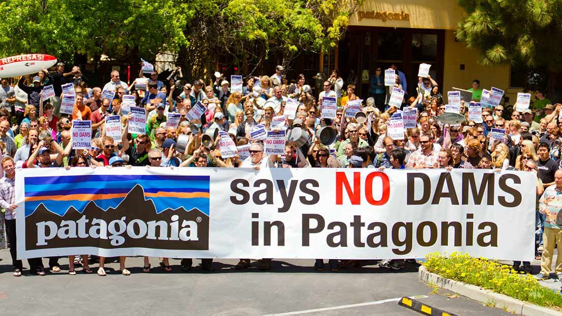 Photo:  Patagonia on activism