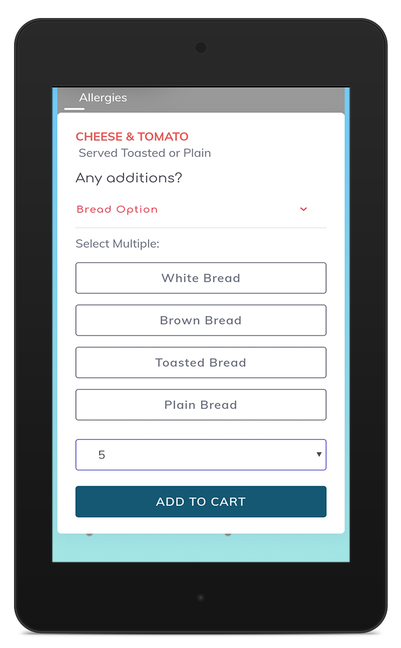 Patient extras & Order now - Customise your meal times, slip printing times and service timesHave order now menus for the adhoc ordersCapture ward issues and extras so that all can be audited quickly through the system.