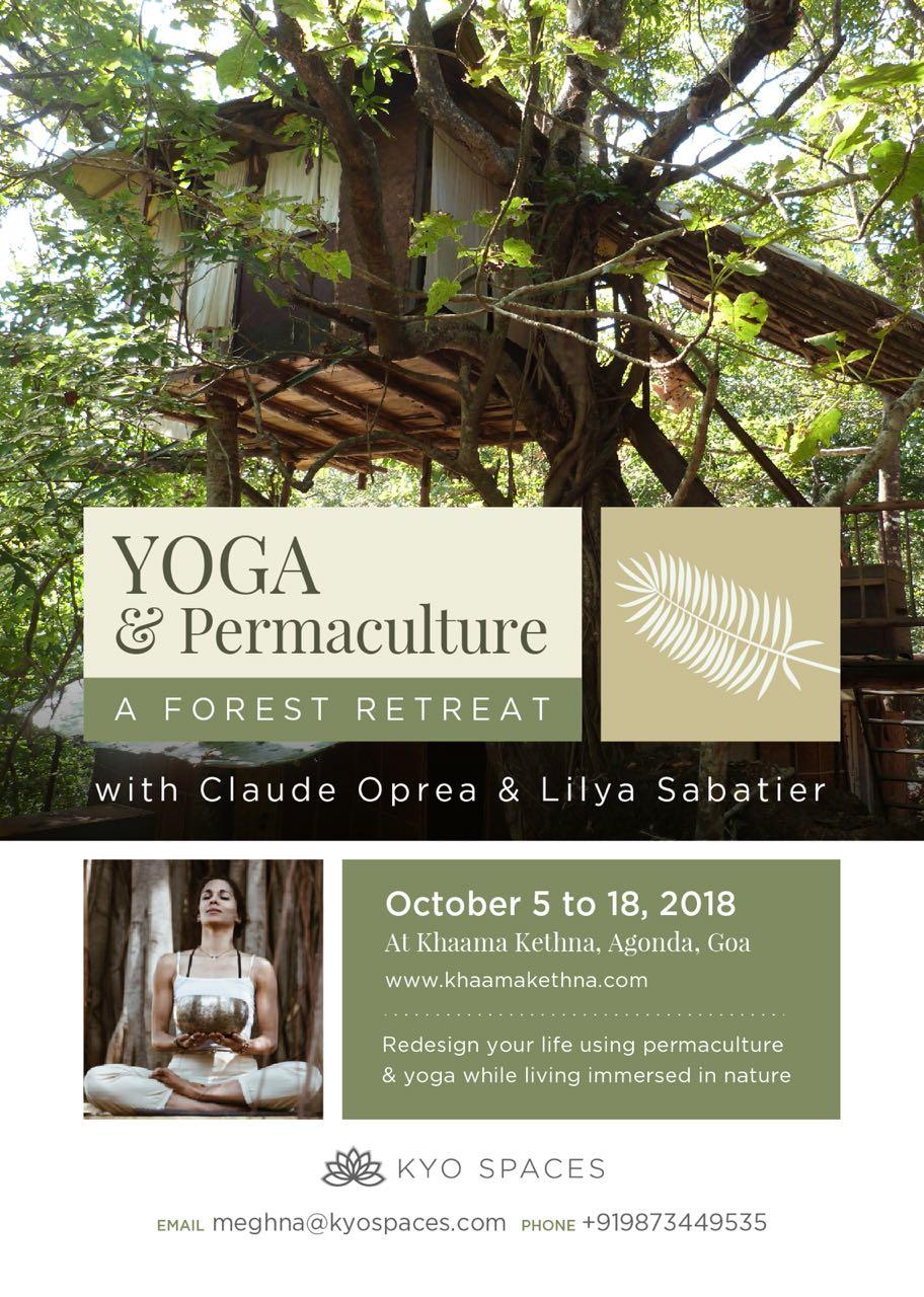 PERMACULTURE RETREAT WITH CLAUDE OPERA & LILYA SABATIER