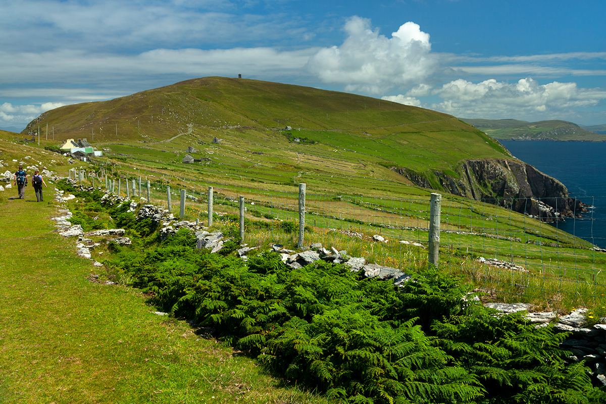 Walking trail on Dursey island
