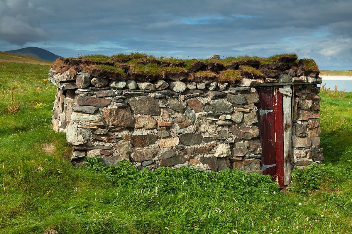 Neal McGregor's hut on Inishboffin island