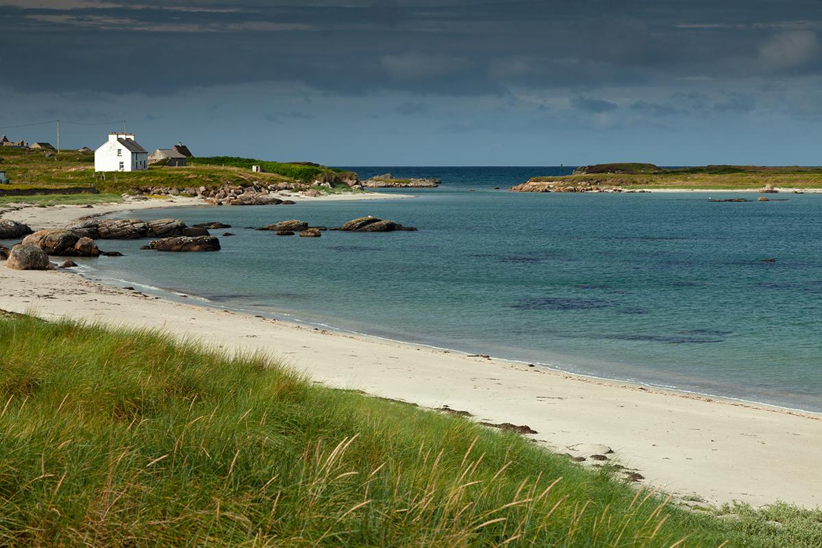 Beach on Inishfree island