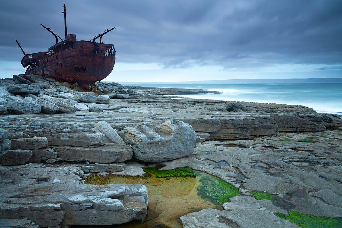 The Plassey Wreck