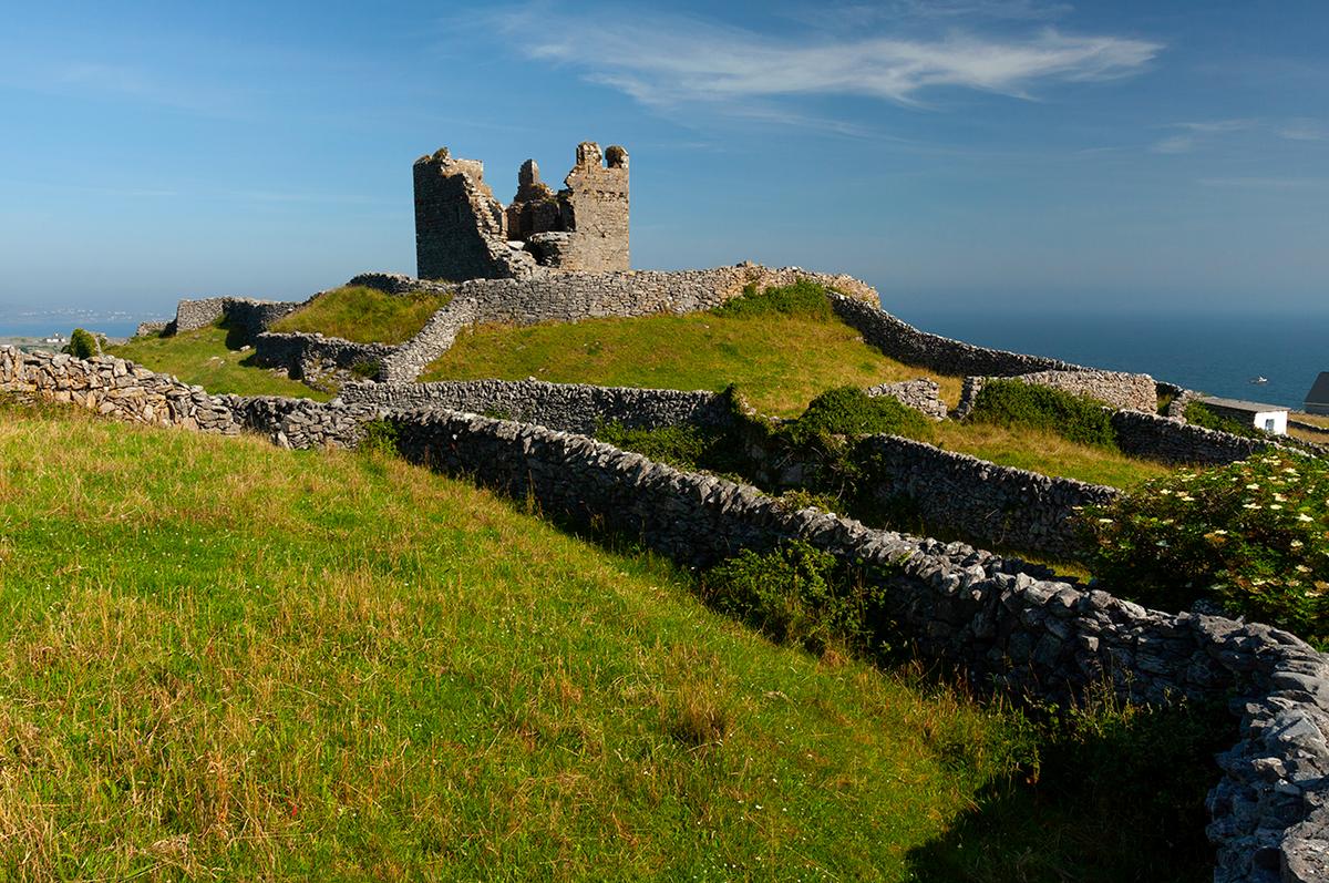 O'Brien's castle on Inis Oírr