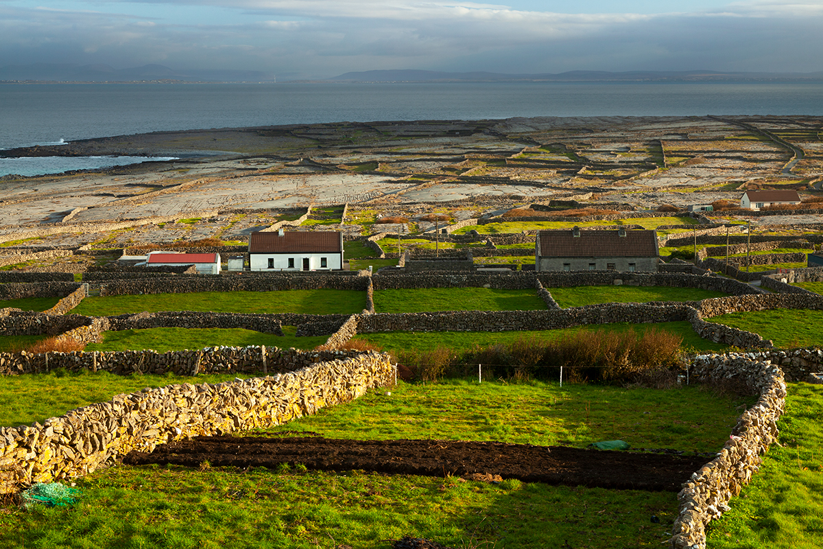 Field system on Inis Meáin