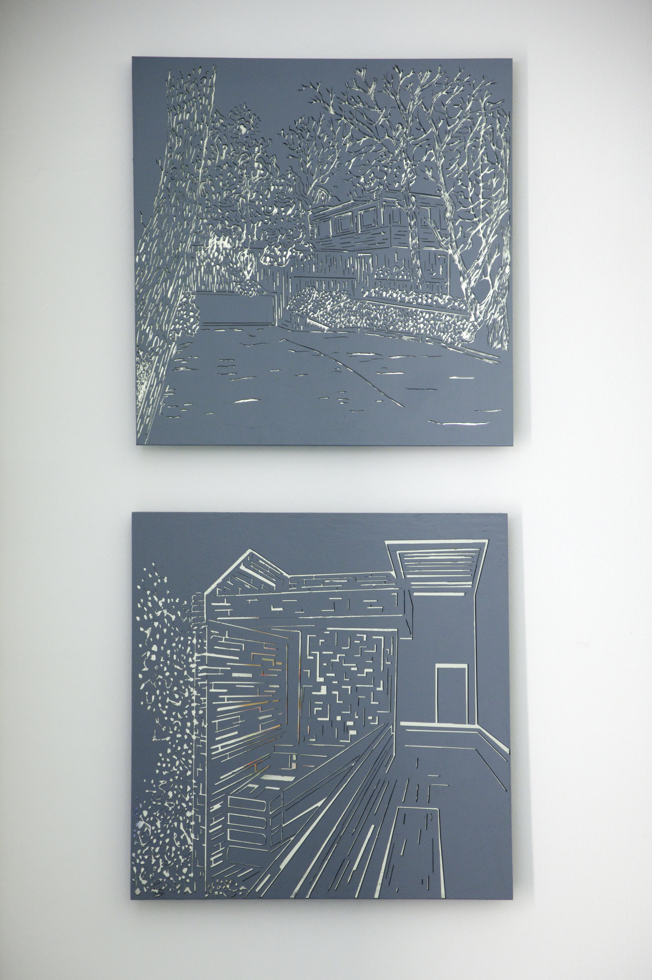 Secret Place and Untitled, 2003