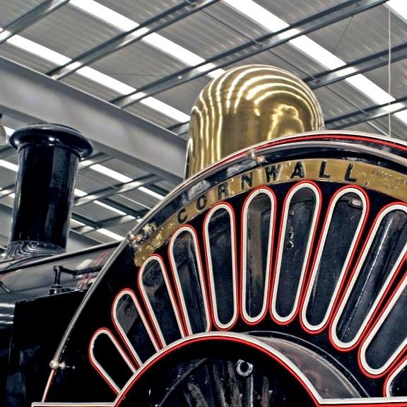 Cornish pioneer Richard Trevithick's loco Cornwall