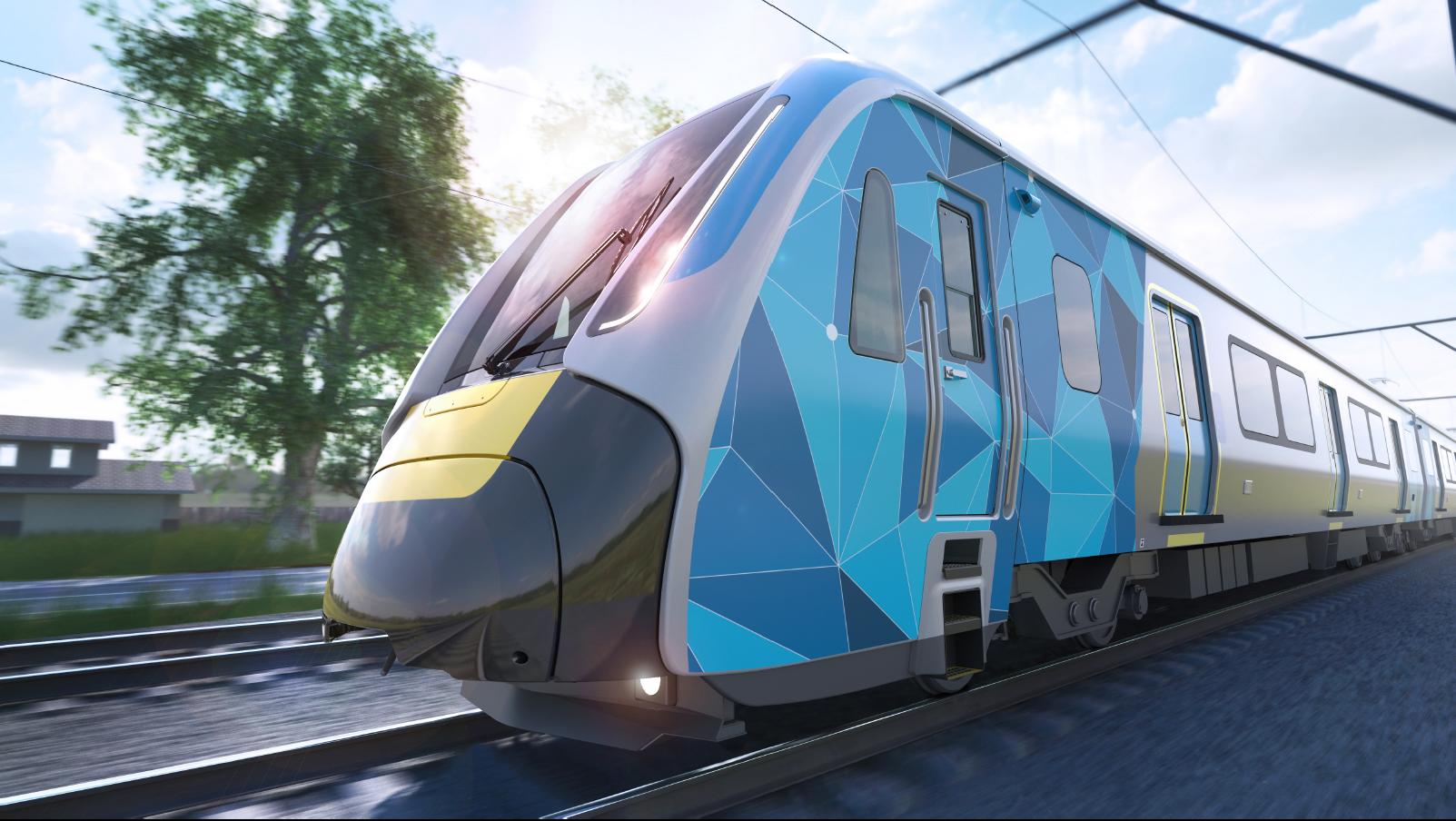 Evolution Rail HCMT courtesy of Passenger Transport Victoria