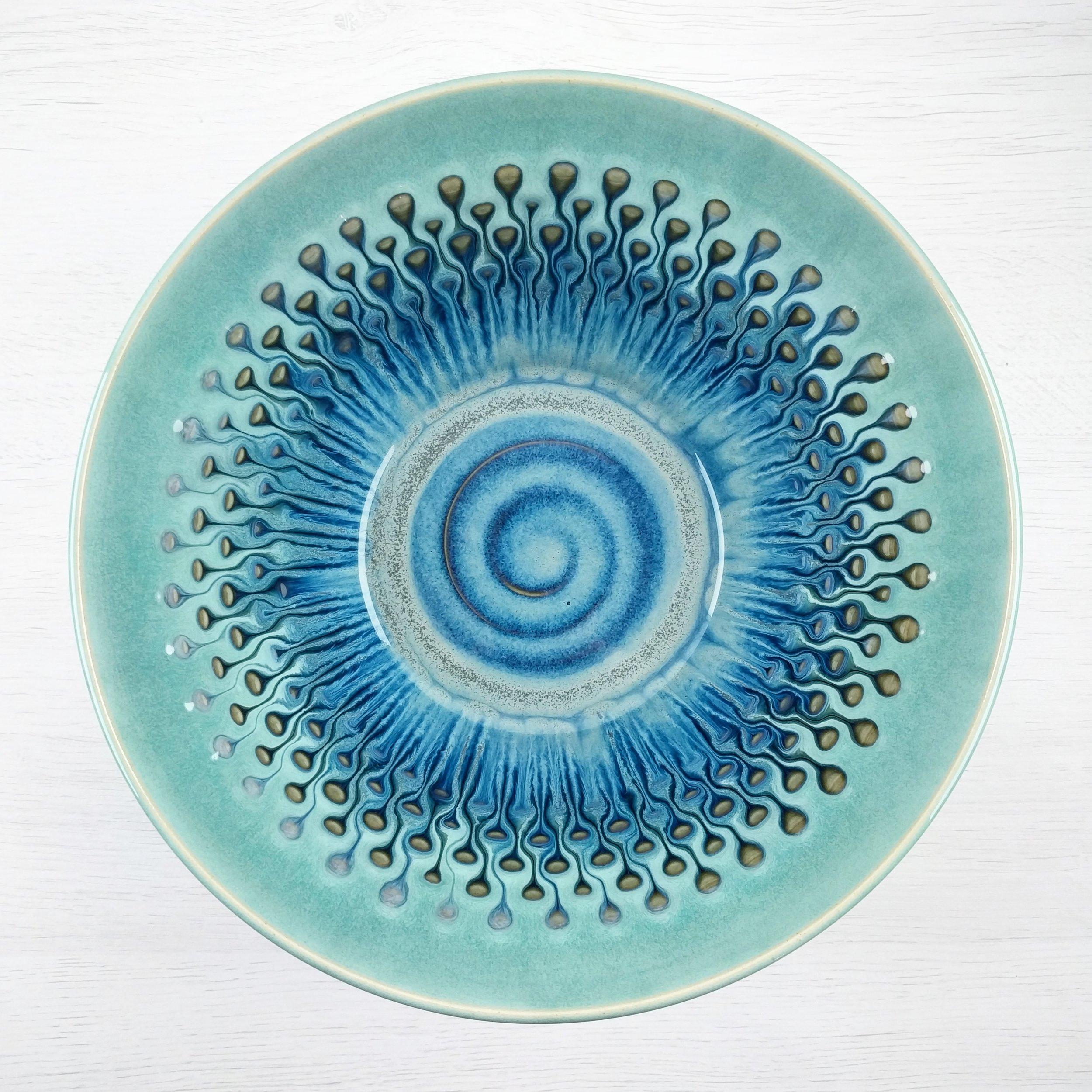 Large Bowl - Peacock Eye