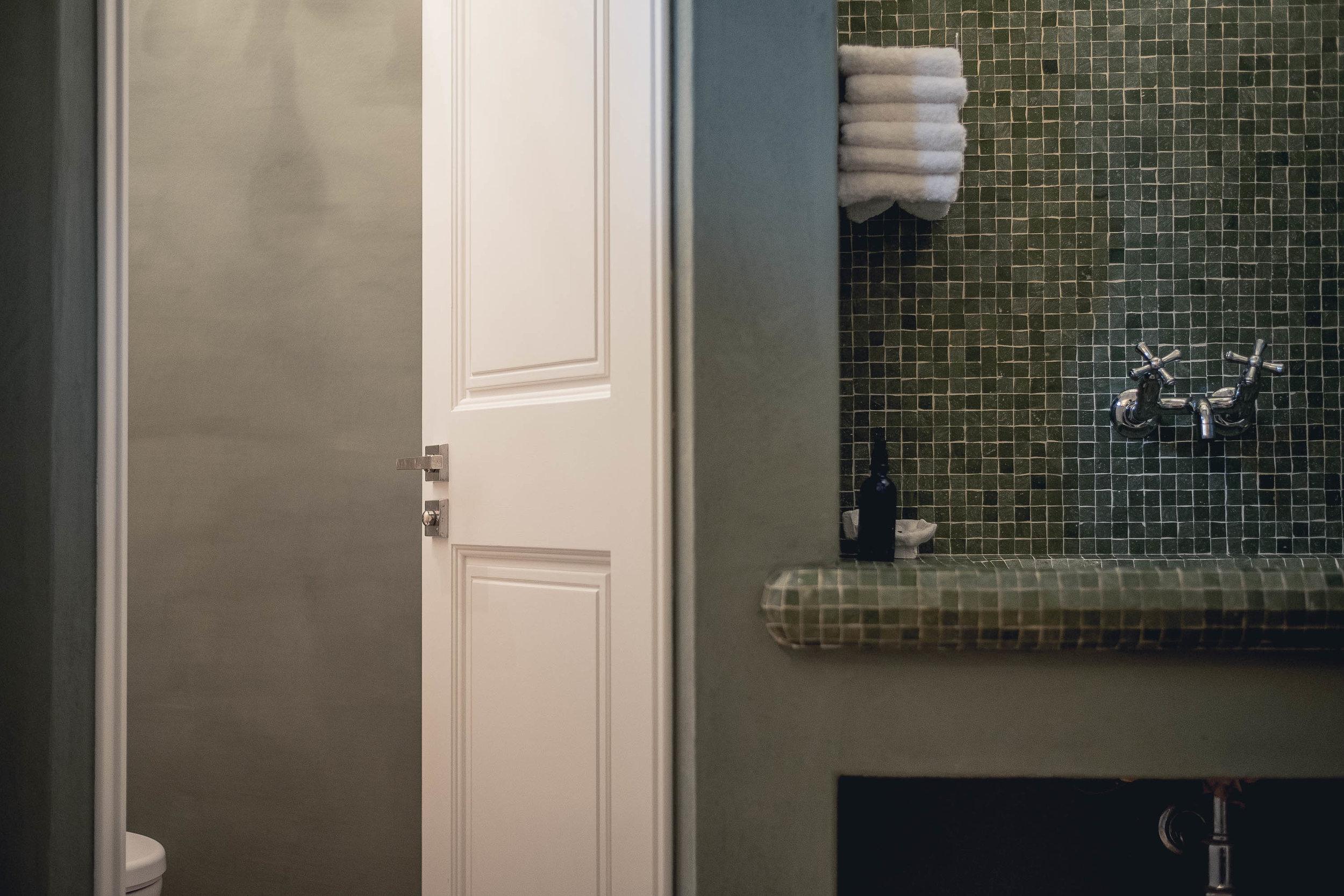 Garniture de poignées de porte ART BRUTAu Produit -