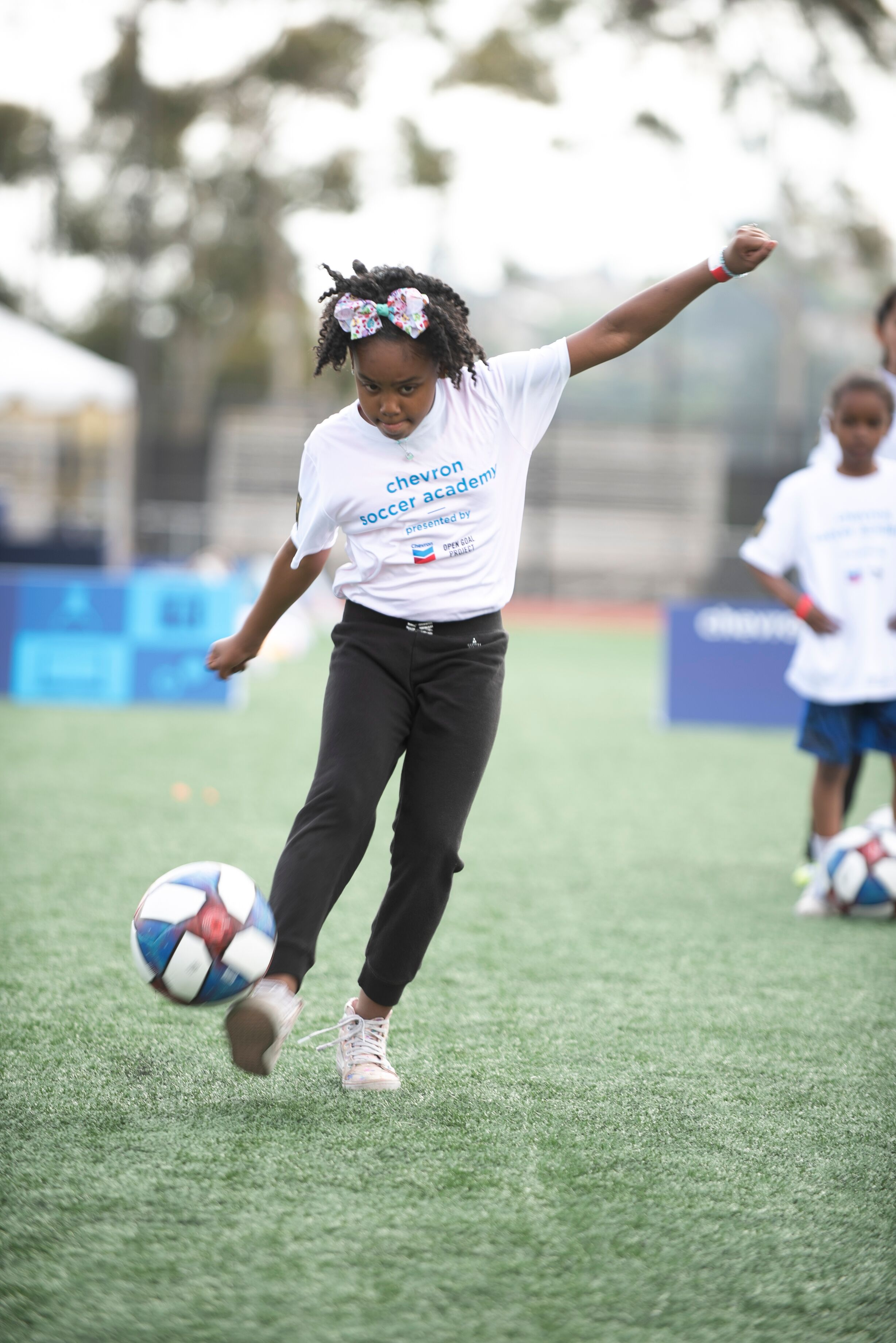 Chevron Soccer Academy — open goal project