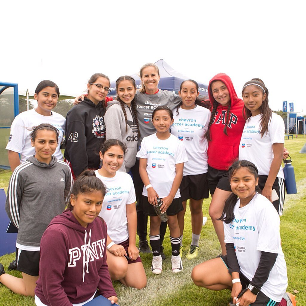Brandi Chastain Chevron Soccer Academy by Open Goal Project