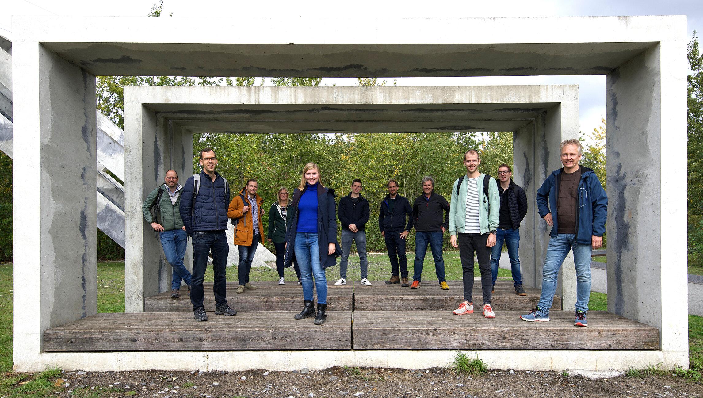 BRO ontwerpteam bezoekt Zollverein