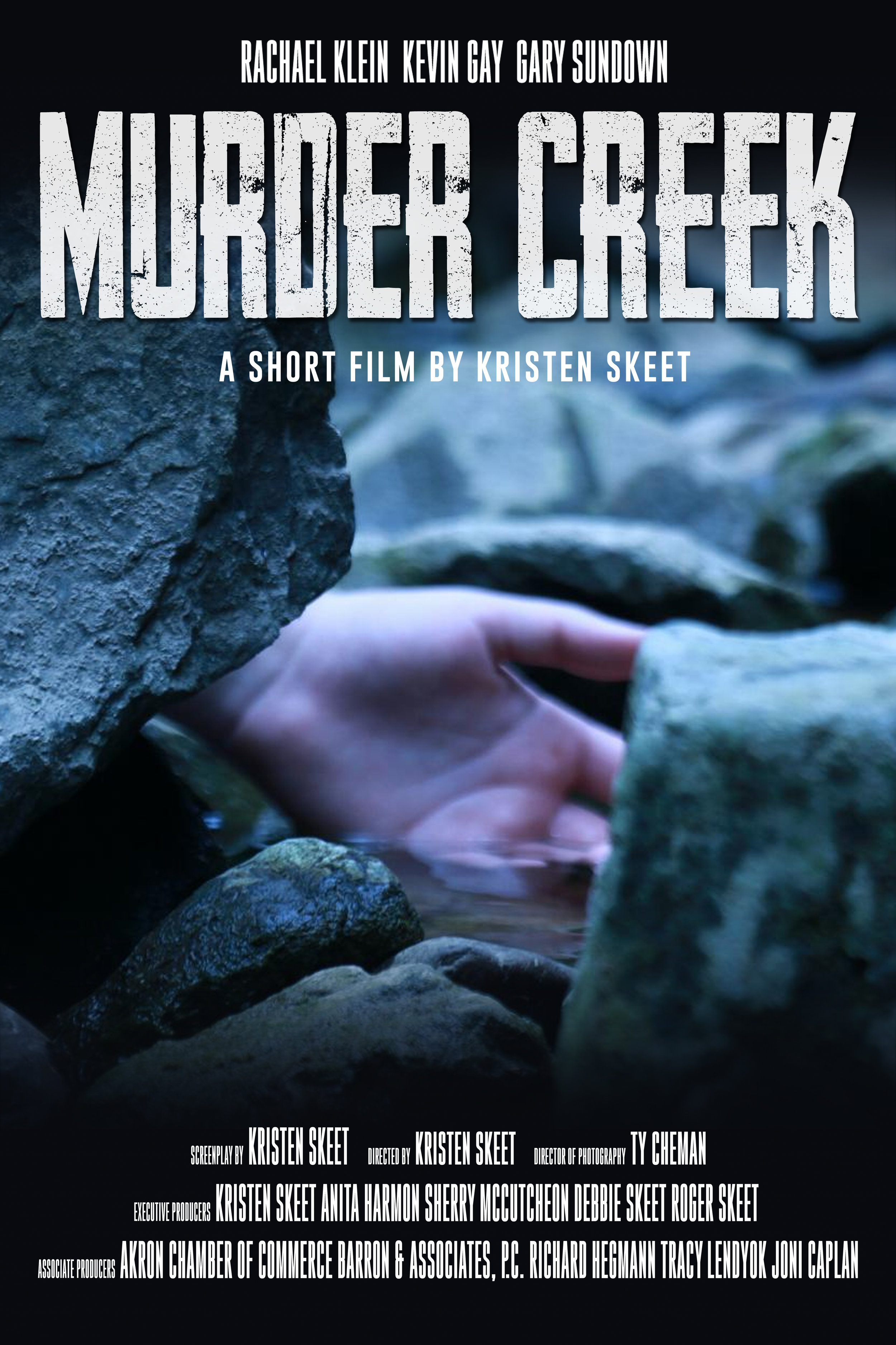 Murder Creek - A short film by Kristen Skeet.While investigating recent park killings along Murder Creek in the small village of Akron in New York, a young woman explores the ghostly legends behind the name of the creek