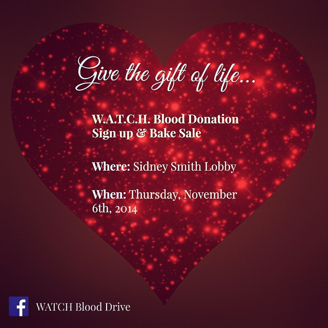 Be there. #fundraising #volunteer #blooddonation #communityservice