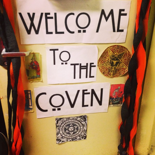 Welcome to the Coven. #21sussex #openhouse #halloween