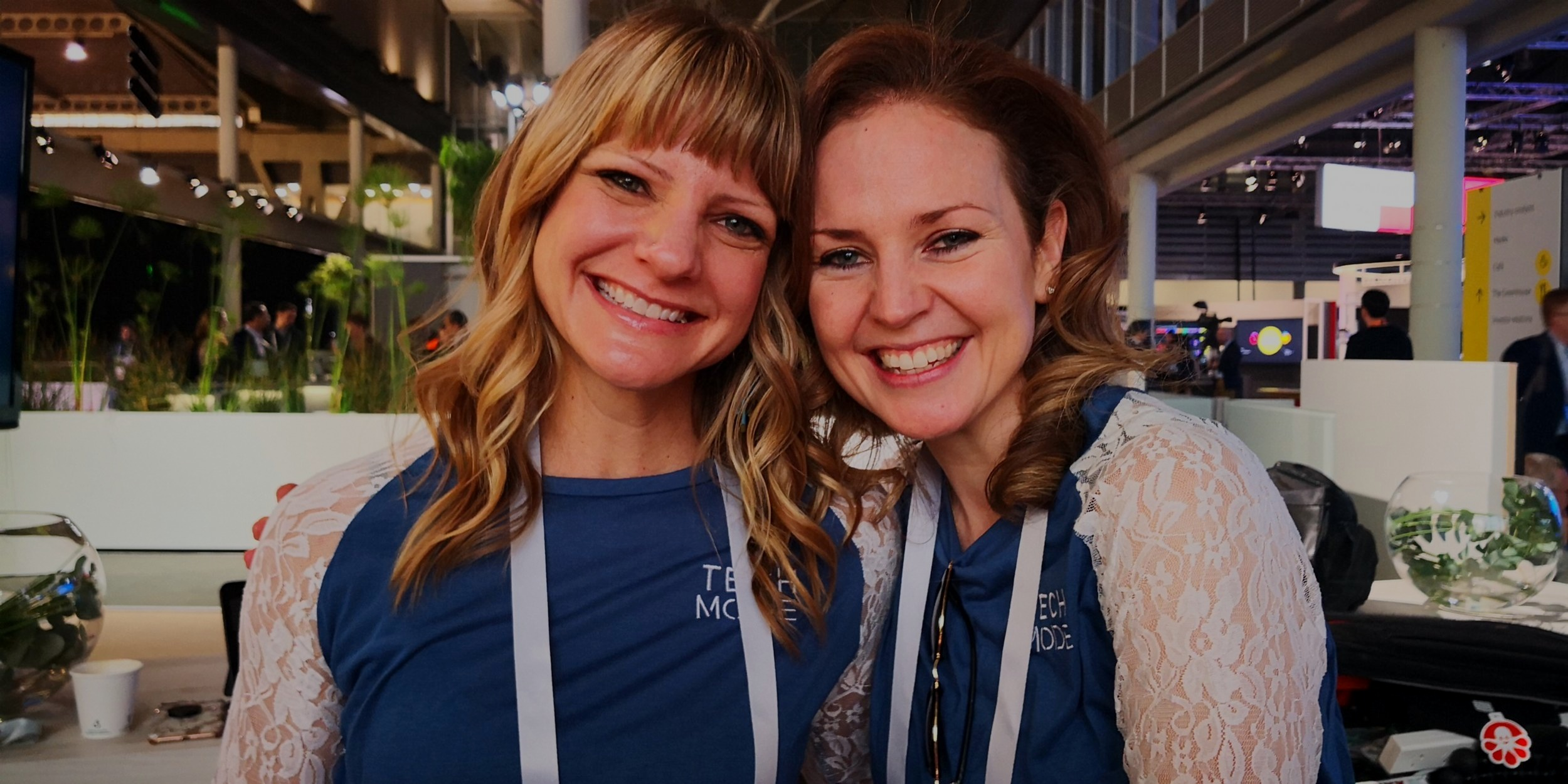Chelsea & Beverley at MWC19