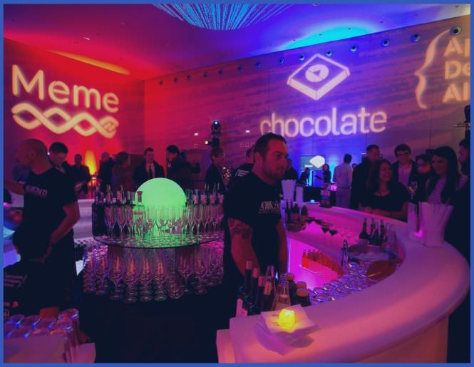 Industry Parties - Parties (especially during large industry conferences) are an ideal opportunity to network and impress current and potential clients. We've hosted dozens of parties, our largest being 1,200+ attendee parties at the W Hotel Barcelona during Mobile World Congress.