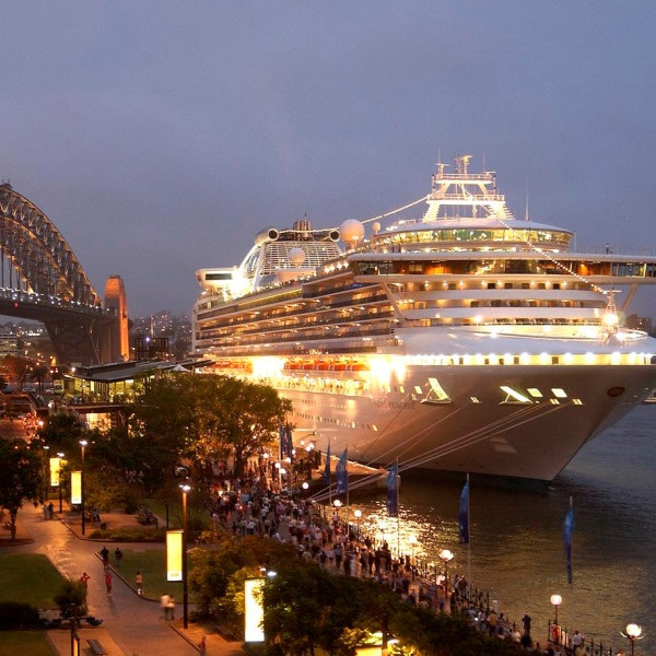 SYDNEY, AUSTRALIA CRUISE - As your ship passes Harbour Heads, you are presented with the shimmering skyline of Sydney - hailed by many seafarers as